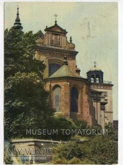 Duże zdjęcie W-wa - Kościół św. Anny od skarpy - 1970