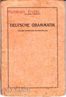 1929r. GRAMATYKA NIEMIECKA