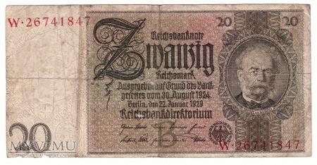 Niemcy, 20 marek 1929r