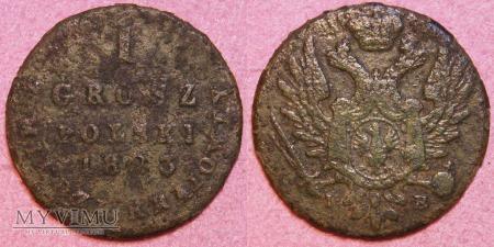 1823, 1 grosz