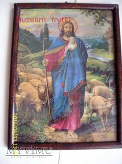 Jezus dobry pasterz - reprodukcja.