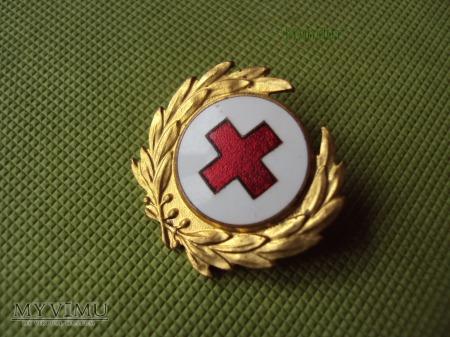 Szwedzka odznaka Czerwonego Krzyża