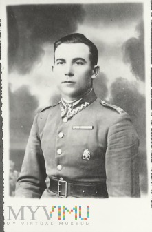 Wachmistrz Walenty Iwicki z 25 Pułku Ułanow Wielk.