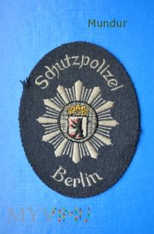 Oznaka SCHUTZPOLIZEI West Berlin Polizei