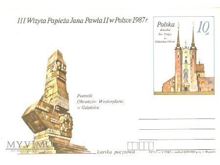 III WIZYTA PAPIEŻA JANA PAWŁA II W POLSCE 1987 5