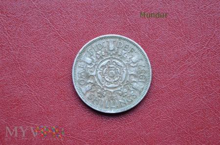 Moneta brytyjska: two shillings