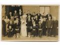 Grupowe zdjęcie rodzinne - wesele, lata 30-te