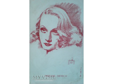 Marlene Dietrich MARLENA Obrad Nicolitch