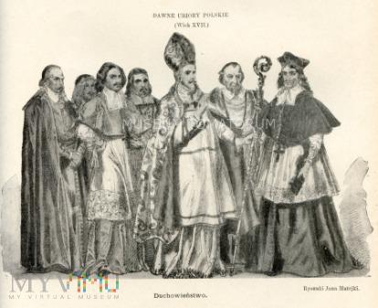 Matejko - Ubiory polskie z XVII w. Duchowieństwo