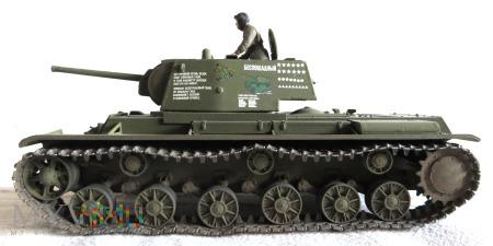 Duże zdjęcie Czołg cieżki KW-1 (wariant z roku 1941)