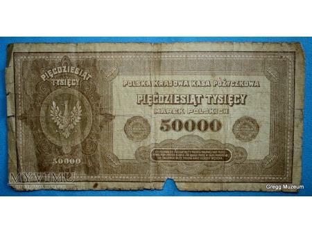 50000 Marek Polskich 1922r.