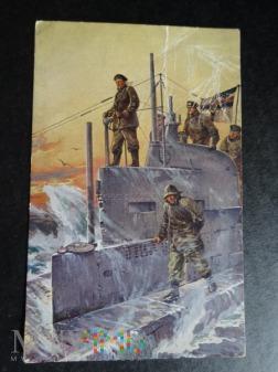 Kartka Pocztowa - U-boot 1917