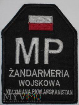Żandarmeria Wojskowa. PKW Afganistan.