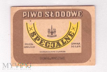 Warszawa, słodowe