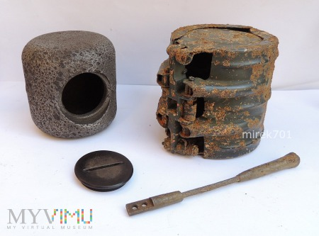 Niemiecka bomba kasetowa SD2 B Ub