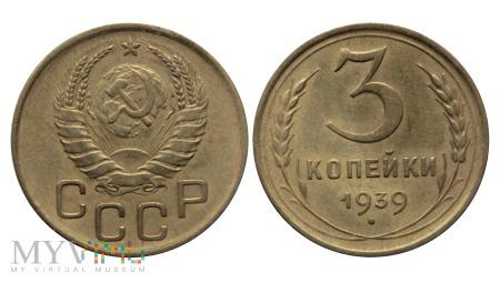 ZSRR, 3 kopiejki 1939