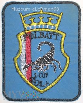 2 kp PKW POLBATT. UNDOF Syria VII zm. 1996/97.