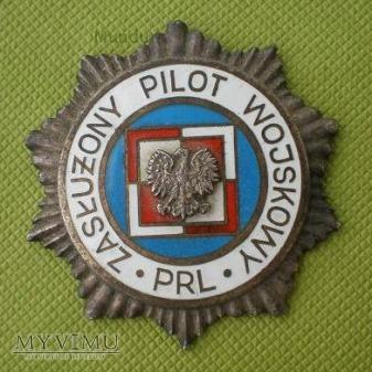 Zasłużony Pilot Wojskowy PRL