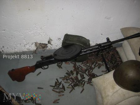 Sowiecki 7,62 mm rkm DP wz. 28.
