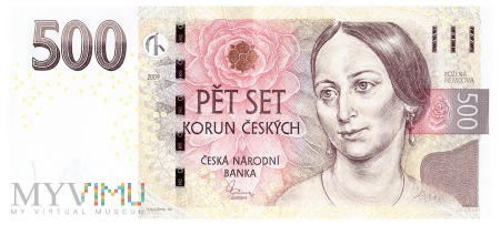 Czechy - 500 koron (2009)