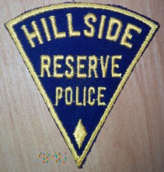 Hillside reserve policja