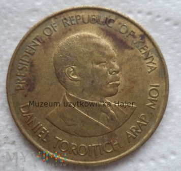 Kenia - 10 centów - 1987 rok