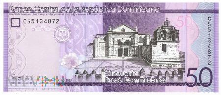Dominikana - 50 pesos (2015)