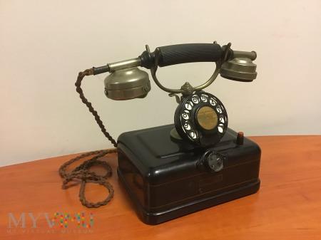 przedwojenny belgijski aparat telefoniczny