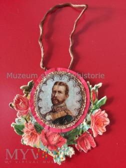 Duże zdjęcie Mikołaj II Romanow patriotyczna zawieszka