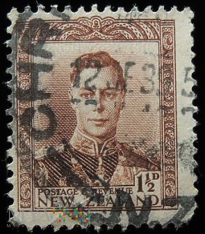Nowa Zelandia 1 1/2 Jerzy VI