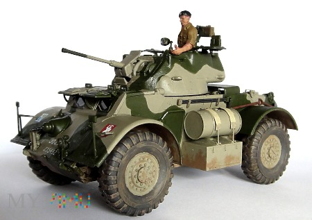 """Samochód pancerny T17E1 """"Staghound"""" Mk I"""