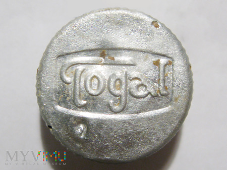 Zakrętka tabletek przeciwbólowych Togal