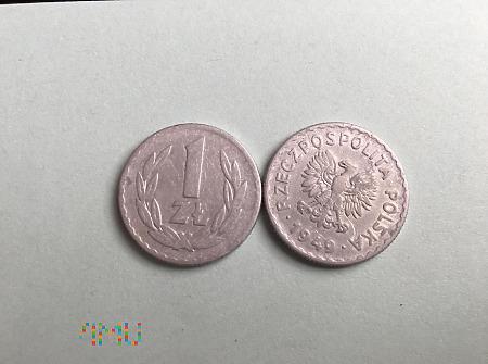 Moneta 1 zł z 1949 roku
