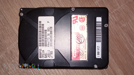 """Conner CP2124 121Mb HDD 2,5"""" 1992 rok"""
