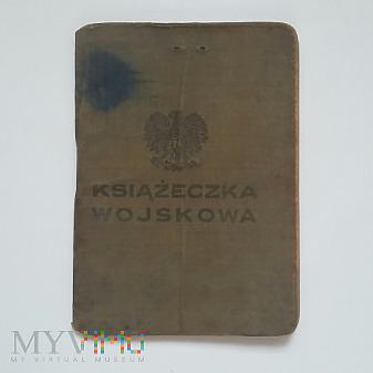 Książeczka wojskowa Kazimierz Nosek 1949