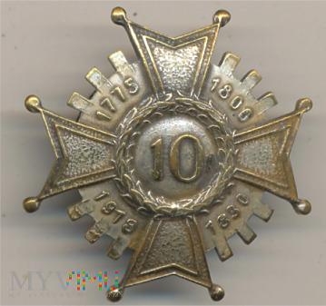 Odznaka 10 pułk piechoty Łowicz