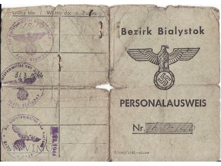 Personalausweis-Kuriany 1943.
