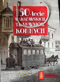 torba 150-lecia warszawskich tramwajów konnych