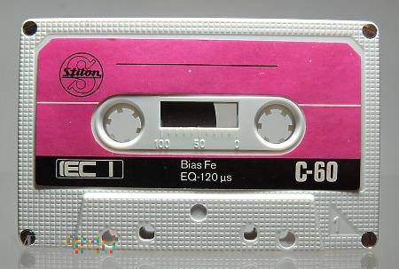 Kaseta magnetofonowa niskoszumowa Stilon C-60