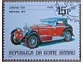 Mercedes 1928 znaczek