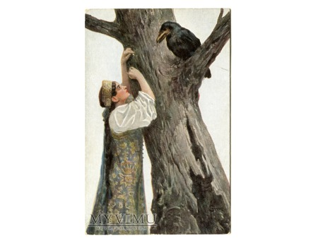 Duże zdjęcie 1924 KRUK Siergiej Solomko skarga serca ..piękna