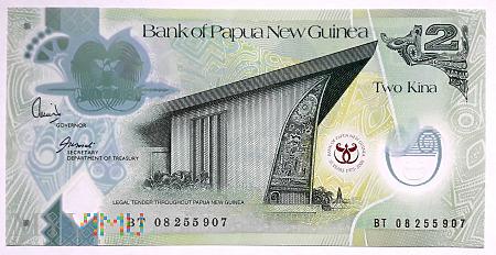 Papua Nowa Gwinea 2 kina 2008
