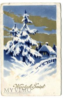 Wesołych Świąt choinka Łuck - Kostopol 1928