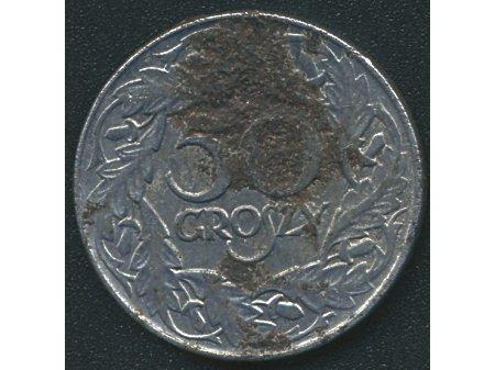 50 groszy 1938 stal