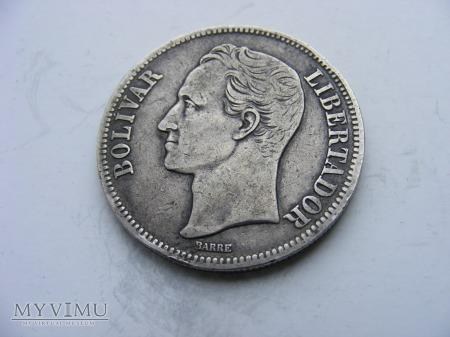 5 BOLIVARÓW - 1924