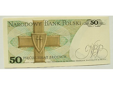 Polska- 50 zł 1988 r UNC