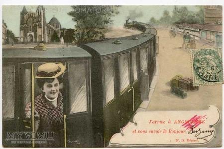 J'arrive a Angouleme
