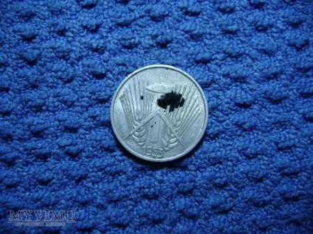 1 pfennig 1953