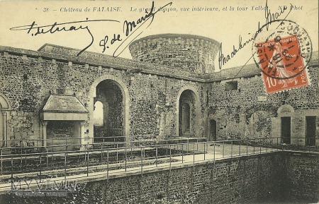 Francja - Château de Falaise