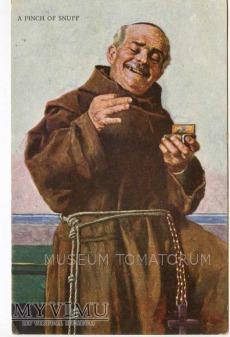 Monk Friar Mönch capucin zakonnik - tabaka 1